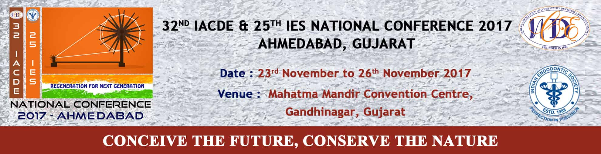 32nd IACDE & 25th IES National Conference 2017, Ahmedabad, Gujarat