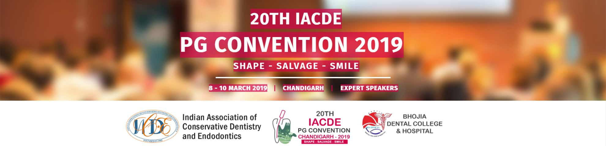 20th IACDE PG Convention 2019