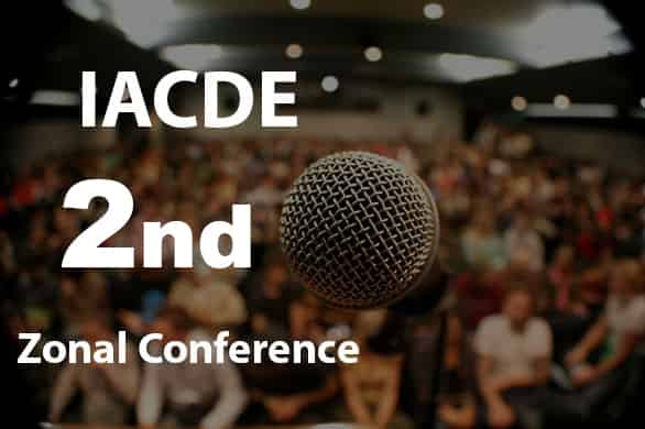 IACDE 2nd Zonal Conference